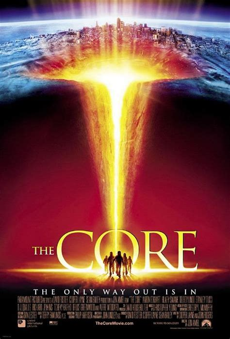 The Core Movie Poster (#2 of 3) - IMP Awards