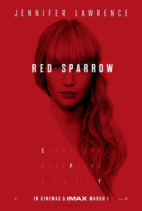 Movie Review - Red Sparrow (2018)