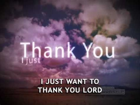Thank You Lord Lyrics With Chords - Don Moen Christian