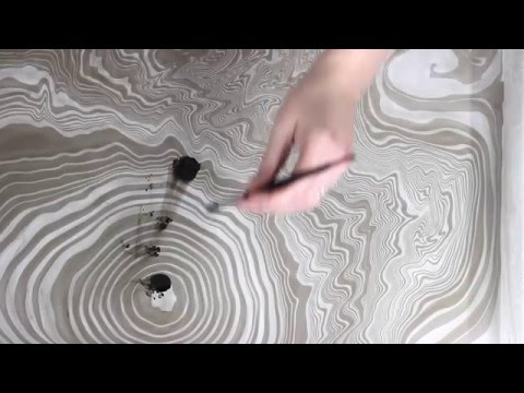 Painting on Water: The Art of Ebru - Mole Empire