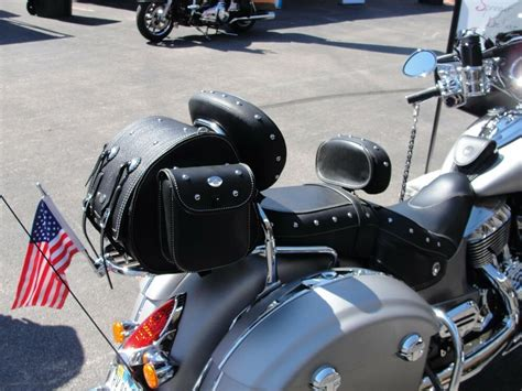 Rear Trunk Bag to fit luggage racks on Indian Chief, 2014