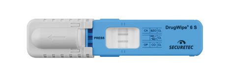 Securetec AG | DrugWipe 6S Saliva Detection Device - Pathtech