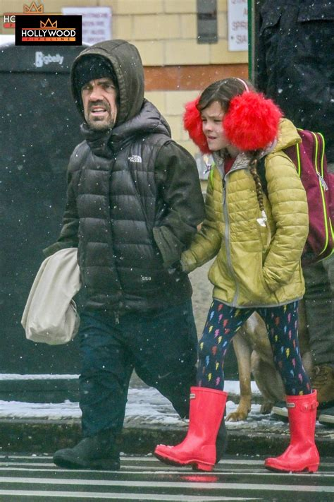 Peter Dinklage and Family Plow Through NYC Snowstorm