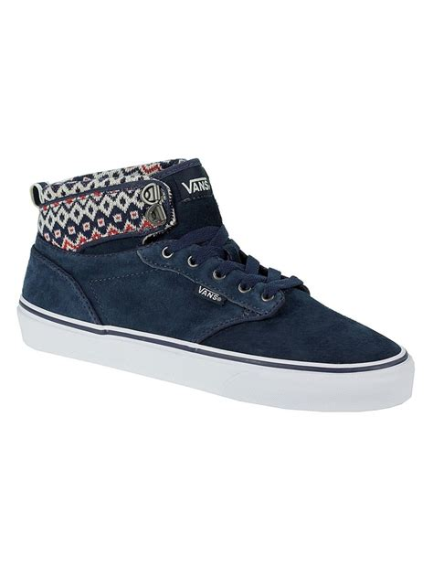 Boty Vans Atwood Hi W Mte navy/ off white | Boardmania