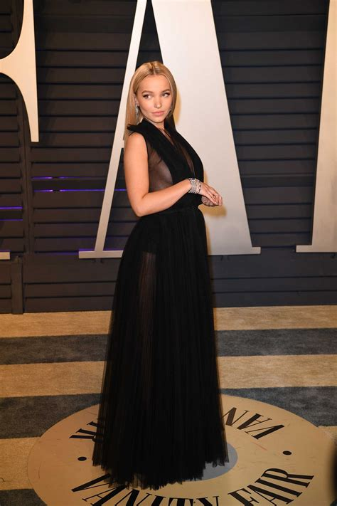 Dove Cameron Attends 2019 Vanity Fair Oscar Party in