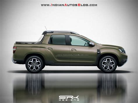 Next-gen Renault Duster Oroch rendered based on 2018 Dacia