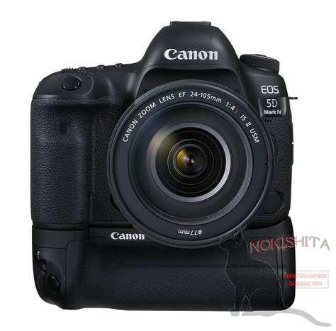 Canon 5D Mark IV DSLR camera leaked online: pictures and