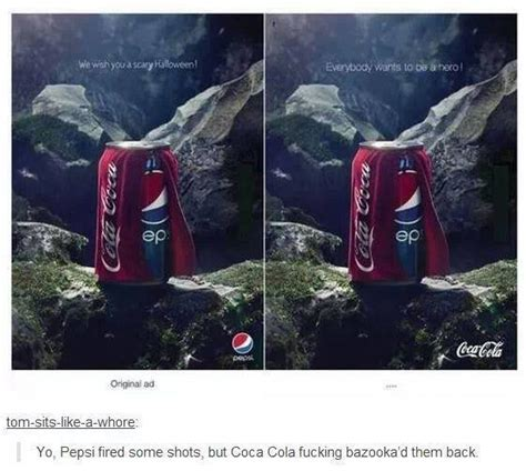 pepsi coca cola werbung advertise - bullsh!ft - oh my god