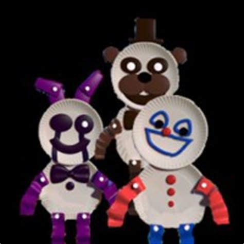 Paperpals - Five Nights at Freddy's - POSTAVY