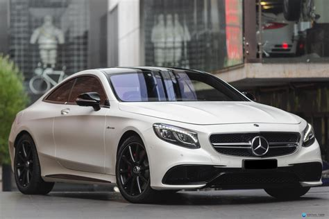 2017 Mercedes-Benz S63 C217 AMG Coupe 2dr SPEEDSHIFT MCT