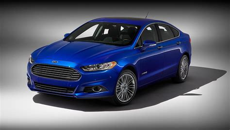 FORD Fusion Hybrid specs & photos - 2012, 2013, 2014, 2015