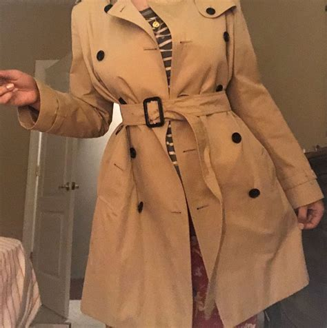 Burberry coat I bought a while ago
