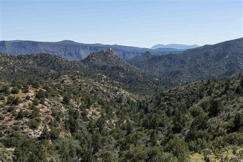 Camping on the Mogollon Rim, AZ During the Government