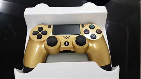 PS4: Unboxing Gold DualShock 4 Wireless Controller - YouTube