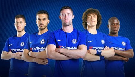 Chelsea Roster Players Squad 2017/2018 (17/18) Name List