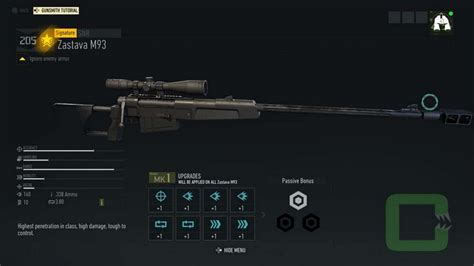 All Sniper Rifles Weapons Blueprints - Ghost Recon