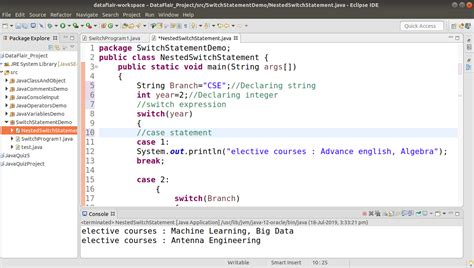 Implement Switch Statement in Java with Example - DataFlair