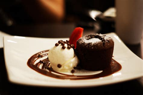 Chocolate souffle and ice cream #3 | Seriously, their