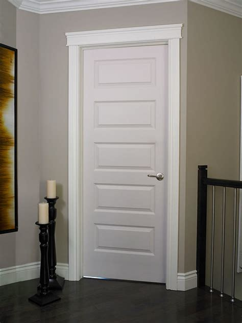 Rockport Smooth Finish Moulded Interior Door | Doors