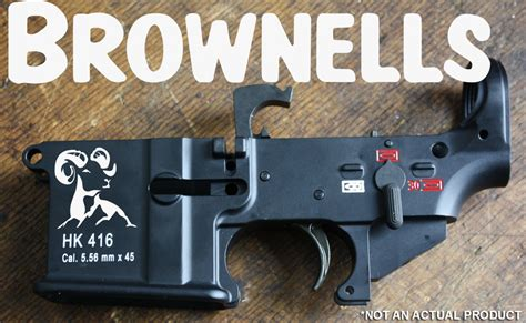[BREAKING] Brownells Acquiring And Importing HK 416/417