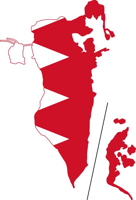 File:Flag-map of Bahrain