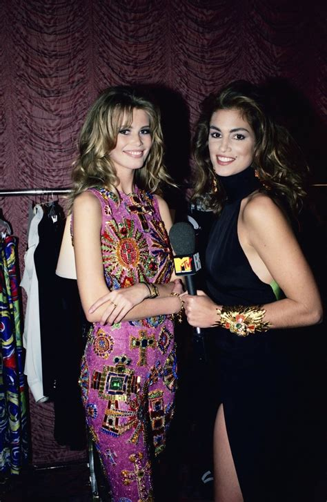 Vintage Fashion Photos: '90s Supermodels Cindy Crawford