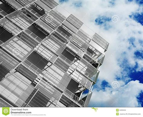 Modern Industrial Architecture Stock Photo - Image: 9409404