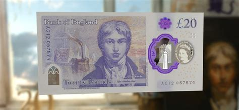 What does the new £20 pound note look like? When is it