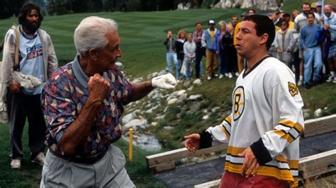 Adam Sandler and Bob Barker Recreated Their 'Happy Gilmore