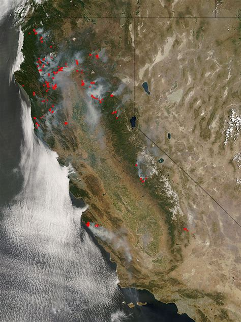 NASA - NASA Imagery of Fire and Smoke