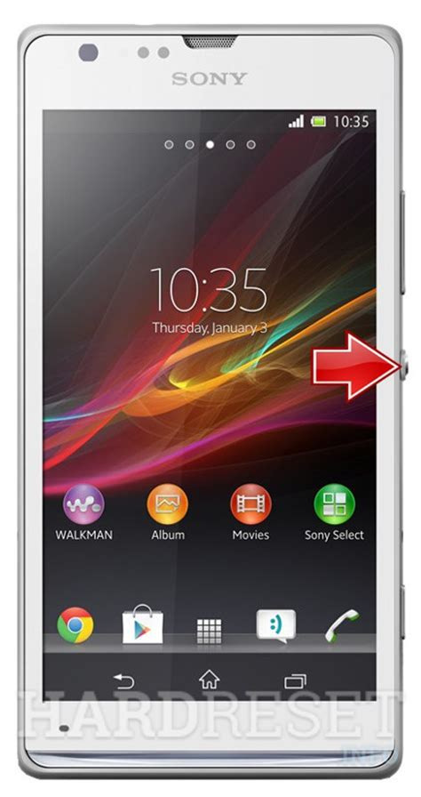 How to Hard Reset my phone - SONY Xperia SP C5303