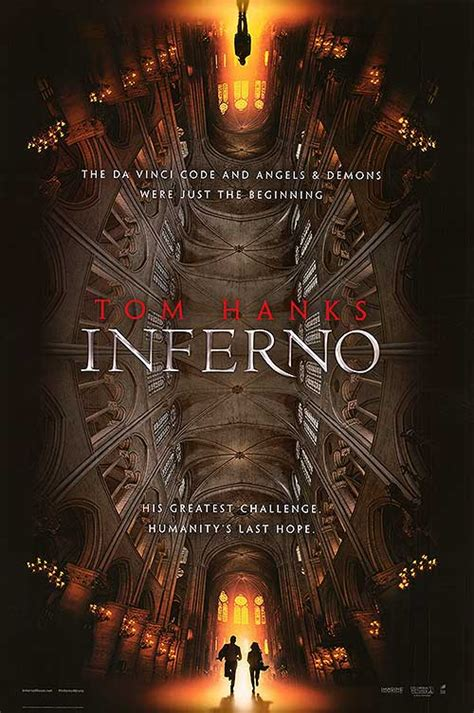 Inferno movie posters at movie poster warehouse