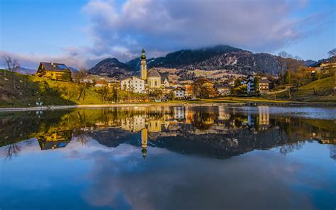 Innsbruck City In The Alps Capital Of Austria's Western