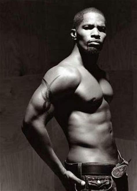 jamie foxx bear body | height and weights