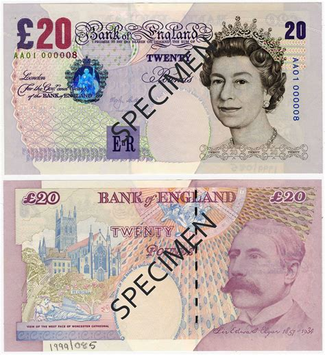 How do past £20 notes measure up against the new JMW