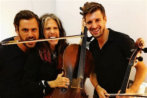 2CELLOS in a Great Company of Steven Tyler, Andrea Bocelli