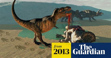 T rex tooth found embedded in prey, restoring dinosaur's