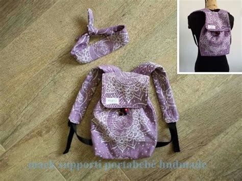 Handmade wrap conversion: Baby backpack made with Dolce