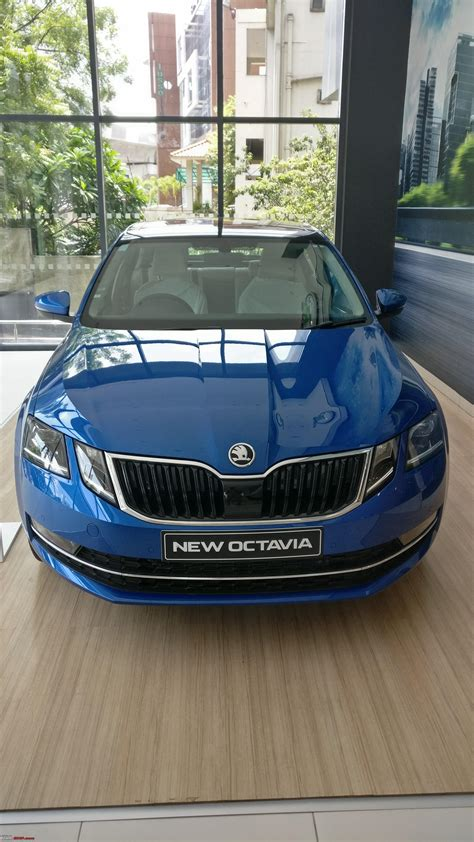 A close look: The 2017 Skoda Octavia Facelift with hands