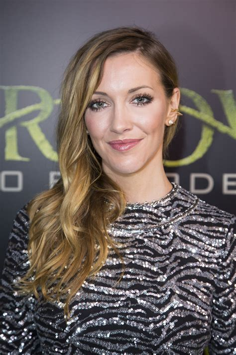 KATIE CASSIDY at 'Arrow' 100th Episode Celebration in