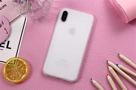 XBXCase Macarons Color TPU Silicone Frosted Matte Case for