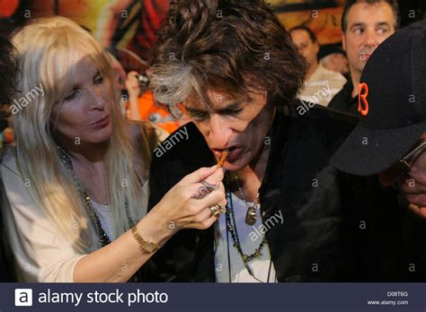Joe Perry and his wife Billie Paulette Montgomery the
