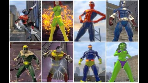 Can You Name The 60+ Marvel Characters Created in DCUO