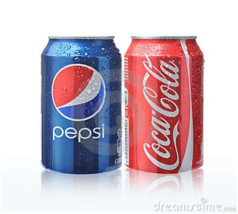 Coca Cola And Pepsi Cans Editorial Image - Image: 23677505