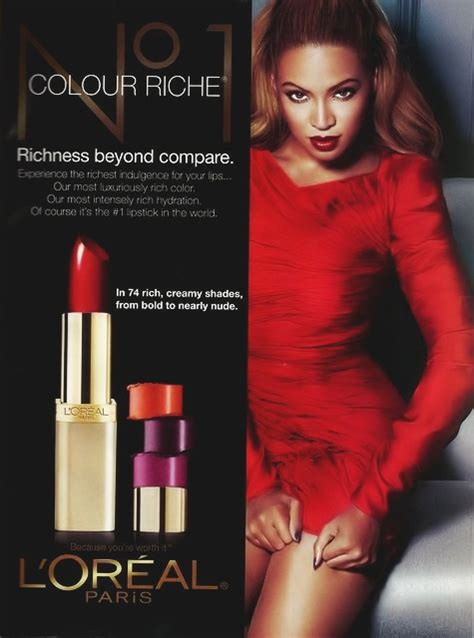 New Beyonce L'Oreal Ads - That Grape Juice